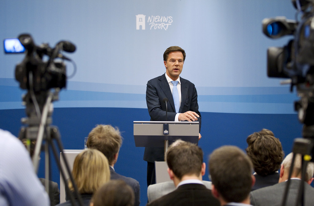 Mark Rutte introduceerde de intelligente lockdown op 23 maart 2020.