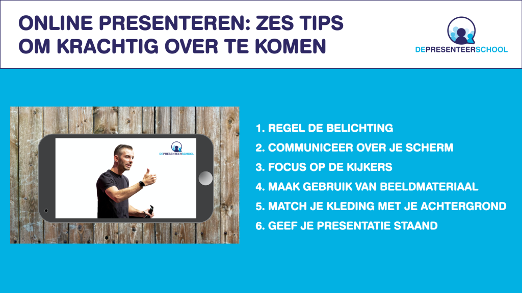 Online presenteren: zes tips om krachtig over te komen